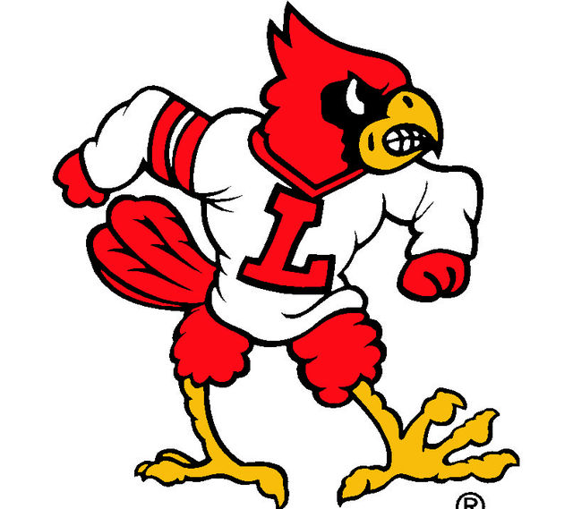 louisville cards football score lines college basketball